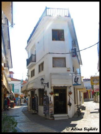 Lost on the streets of Skiathos